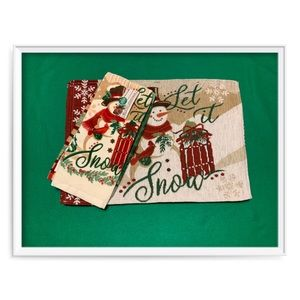 Other - Assorted Christmas Placemats & Kitchen Towels